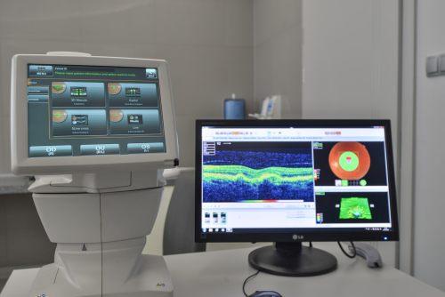 OCT czyli optyczna koherentna tomografia komputerowa dna oka