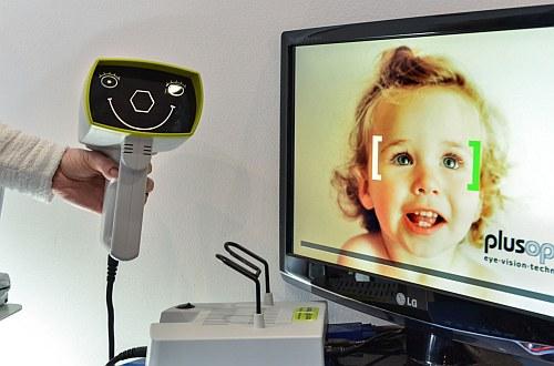 Autorefraktometr pediatryczny